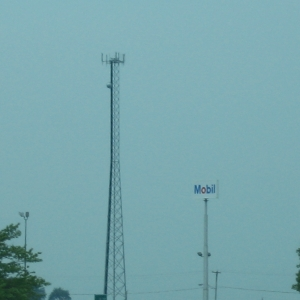 Cell Site Outside of Danville, Illinois