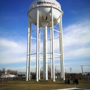 Mishawaka water tower