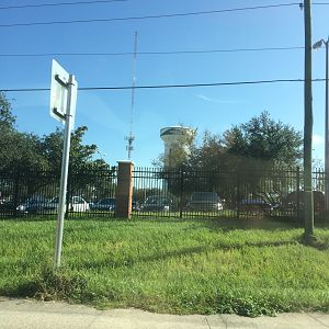 USF water and guyed tower