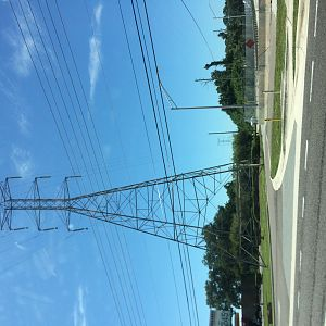 Clearwater pylons